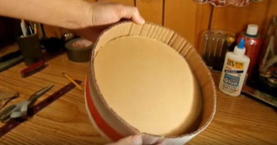Процесс изготовления шлема дарта вейдера шаг 53