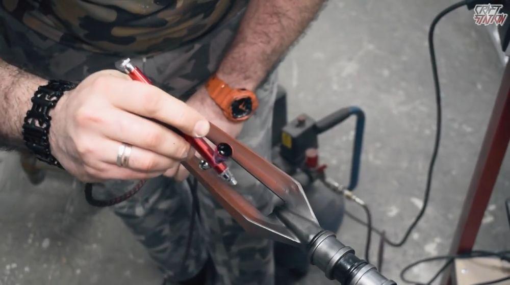 Процесс изготовления винтовки мондалорца шаг 54