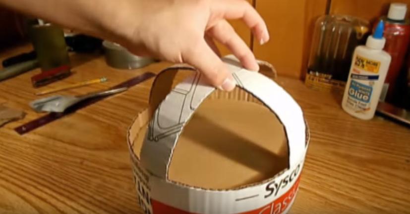 Процесс изготовления шлема дарта вейдера шаг 55