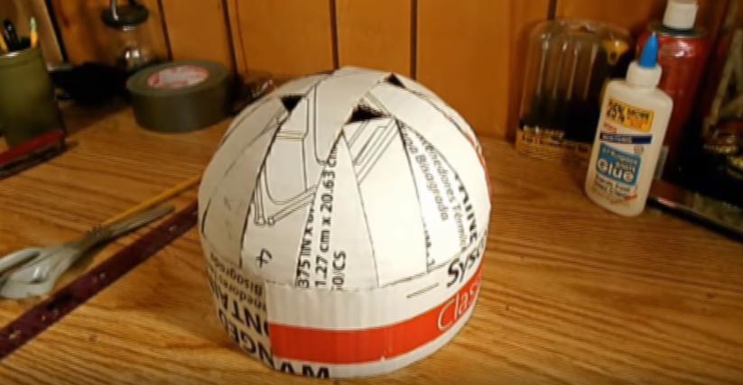 Процесс изготовления шлема дарта вейдера шаг 57