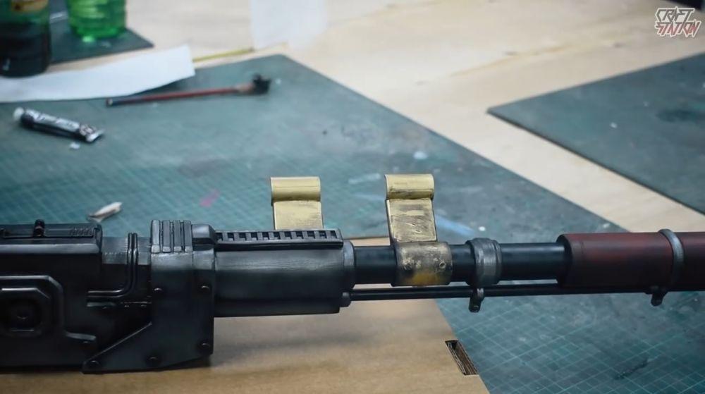 Процесс изготовления винтовки мондалорца шаг 57