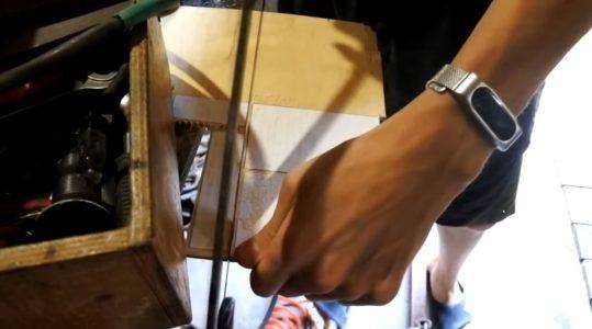 Выпиливание шаблонов из фанеры