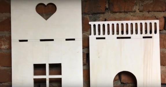 Процесс изготовления домика для барби шаг 6