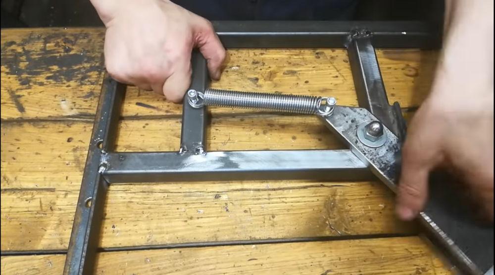 Процесс изготовления гриндера из болгарки шаг 6