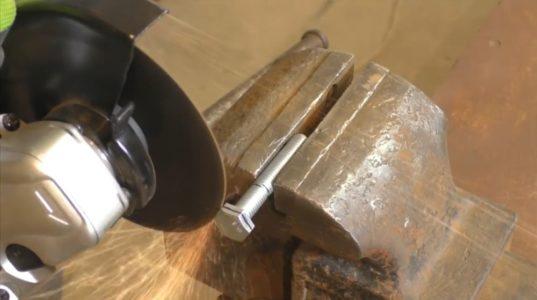 Процесс изготовления ретро лампы шаг 6