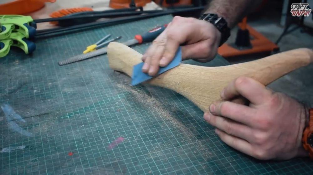Процесс изготовления винтовки мондалорца шаг 6