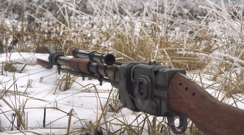 Процесс изготовления винтовки мондалорца шаг 60