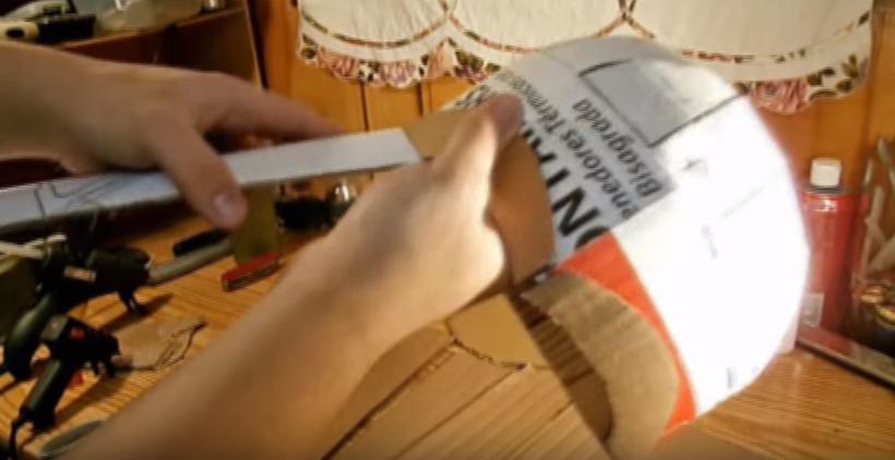 Процесс изготовления шлема дарта вейдера шаг 61