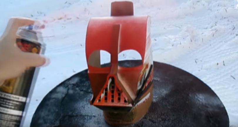 Процесс изготовления шлема дарта вейдера шаг 66
