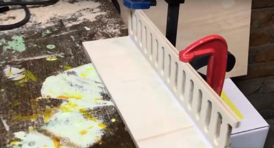 Процесс изготовления домика для барби шаг 7