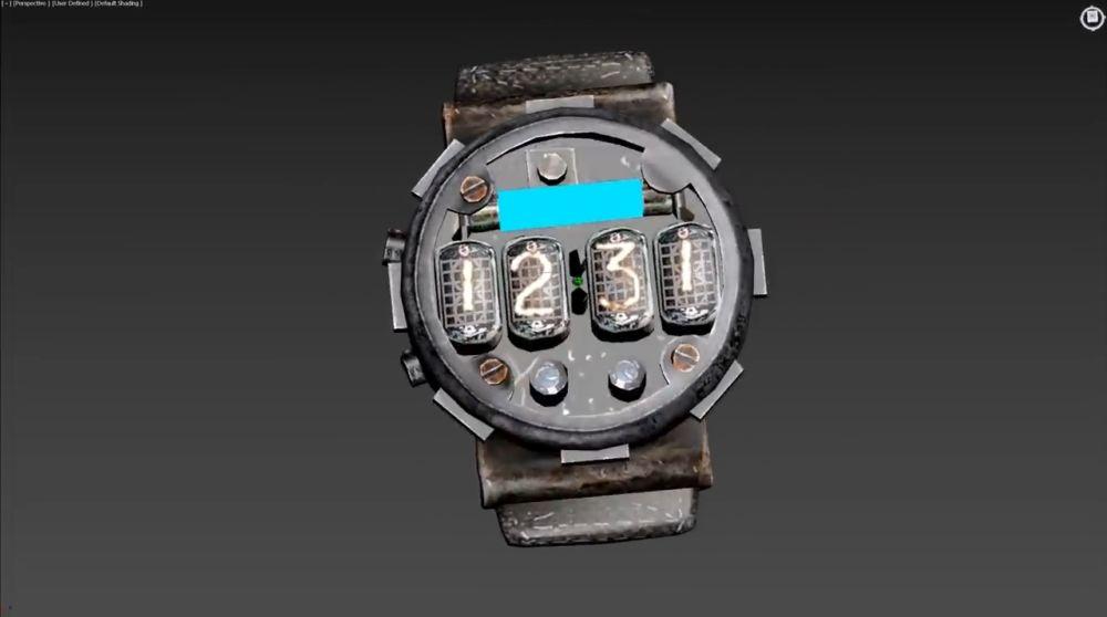 3D-модель готовых часов
