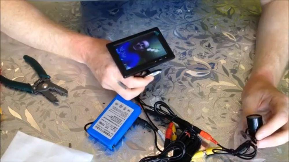 Процесс изготовления подводной камеры шаг 6