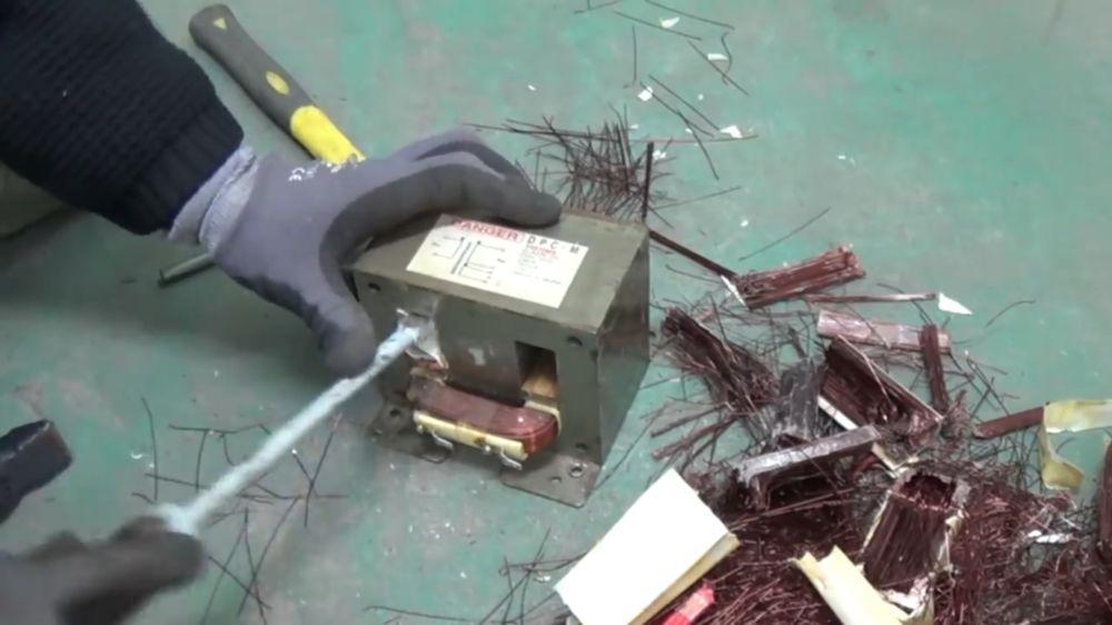 Процесс изготовления точечной сварки шаг 5