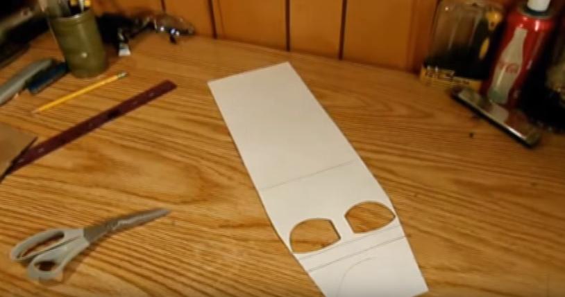 Процесс изготовления шлема дарта вейдера шаг 7