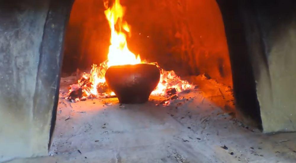 Приготовление пищи в печи