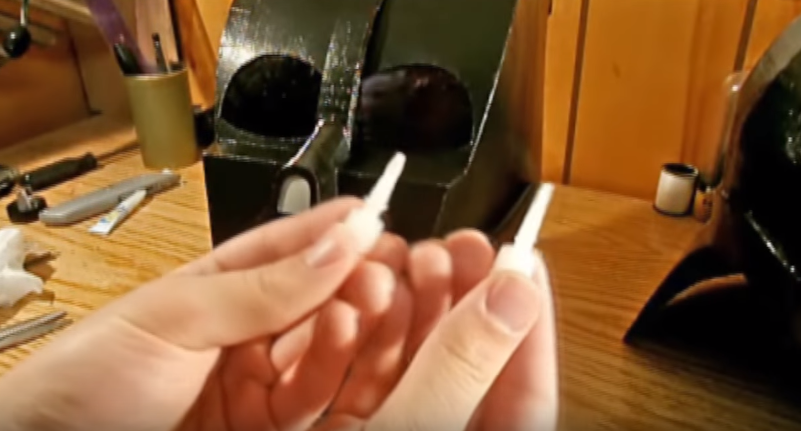 Процесс изготовления шлема дарта вейдера шаг 78