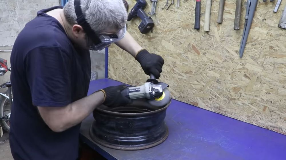 Процесс изготовления мангала гриля шаг 8