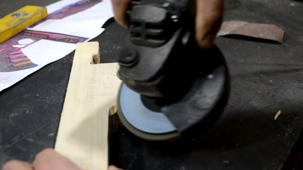 Шлифование ствольной коробки