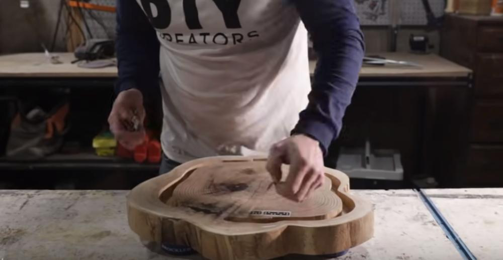 Процесс изготовления люстры лофт шаг 9