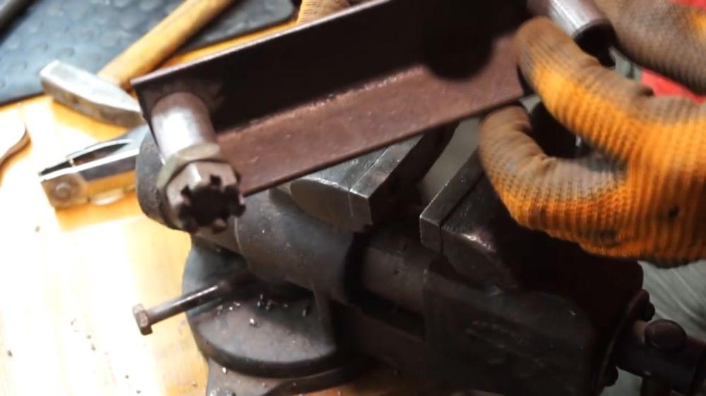 Процесс изготовления прокатного станка шаг 8
