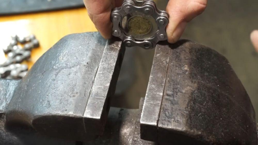 Процесс изготовления спиннера шаг 7
