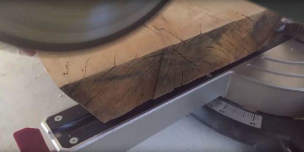 Процесс изготовления журнального столика лофт шаг 9