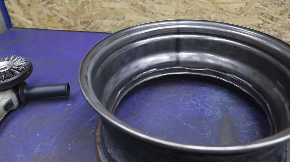 Процесс изготовления мангала гриля шаг 9