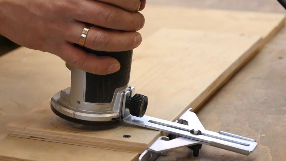 Процесс изготовления насадки для фрезера шаг 9