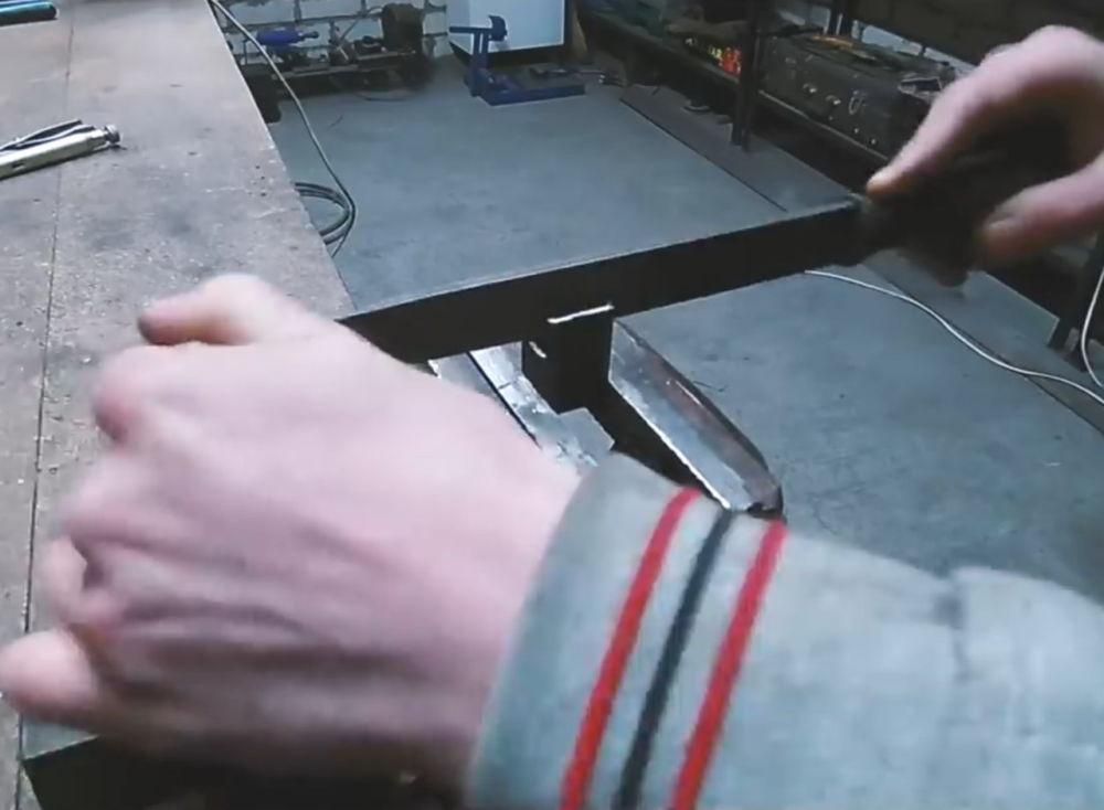Процесс изготовления ленточной шлифовальной машины шаг 13