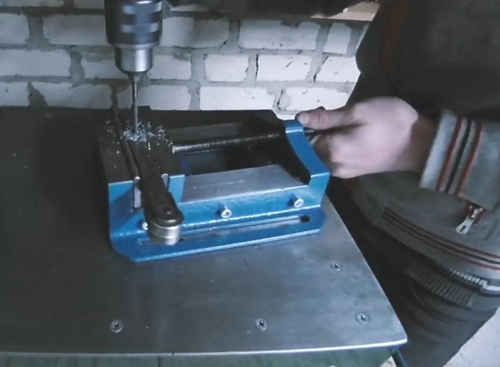 Процесс изготовления ленточной шлифовальной машины шаг 17