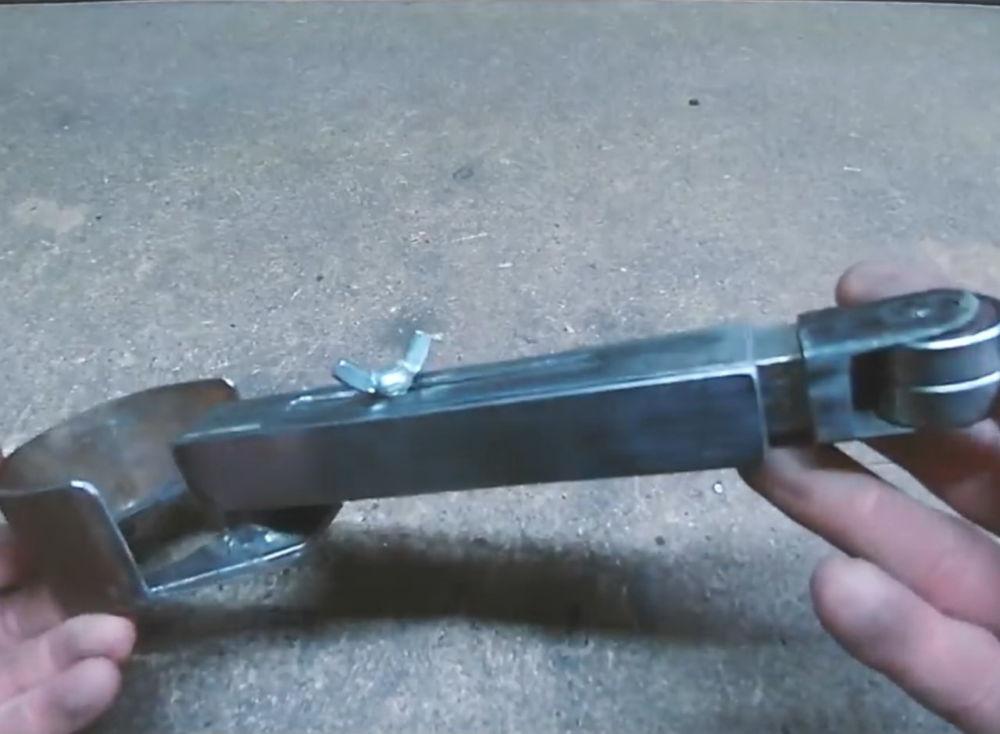 Процесс изготовления ленточной шлифовальной машины шаг 19