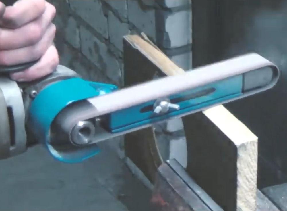 Процесс изготовления ленточной шлифовальной машины шаг 20