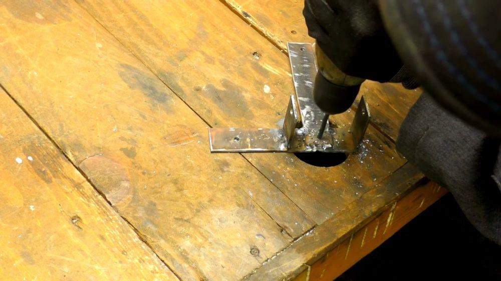 Процесс изготовления держателя для болгарки шаг 7