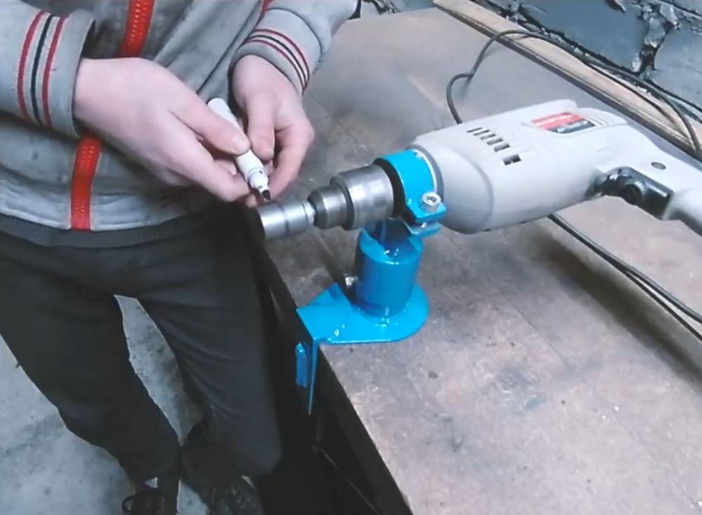 Процесс изготовления ленточной шлифовальной машины шаг 7