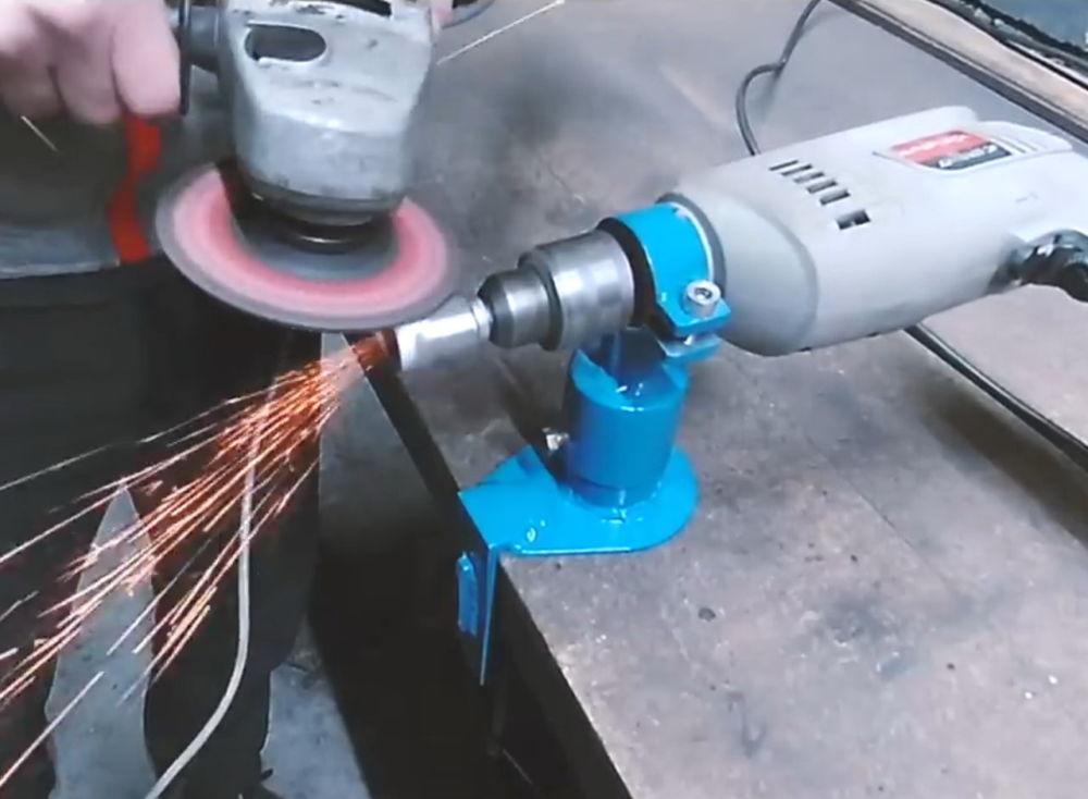 Процесс изготовления ленточной шлифовальной машины шаг 8