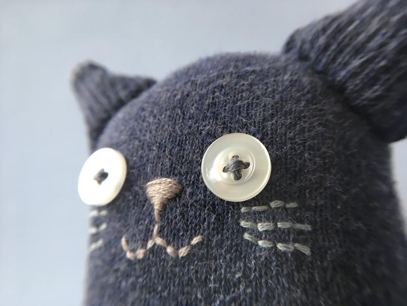 Кошка из носков 3
