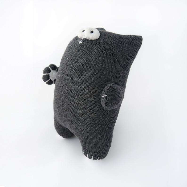 Кошка из носков 10