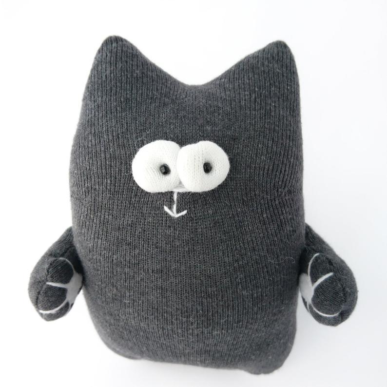 Кошка из носков 11