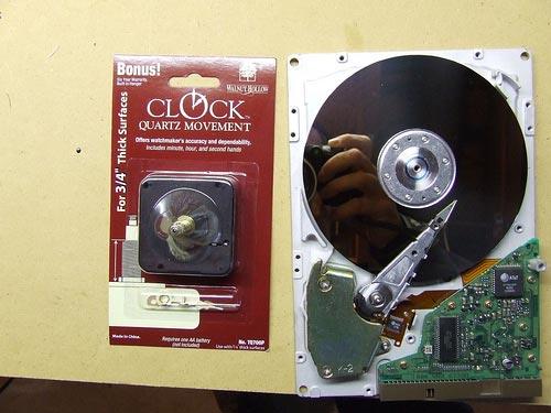 Часы из винчестера