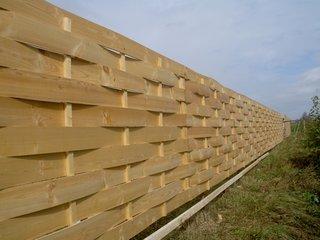 Забор плетень