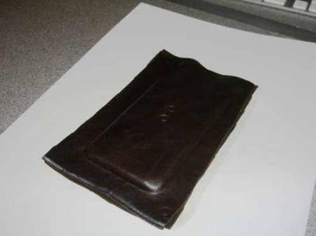 Кожаный чехол для плеера