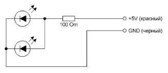 Система водяного охлаждения с подсветкой
