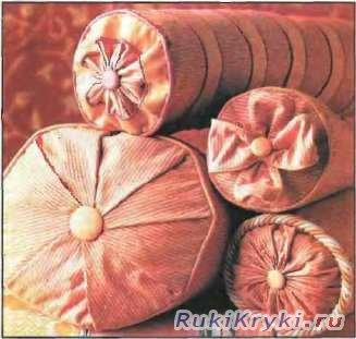 Способы пошива подушки-валика