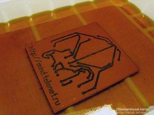 Изготовление печатных плат с помощью лазерного принтера