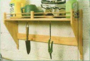 Как сделать полку для инструмента