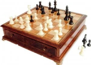 Шахматный столик своими руками