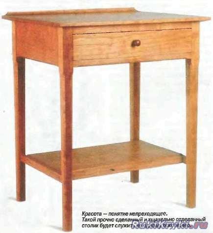 Как сделать прикроватный столик