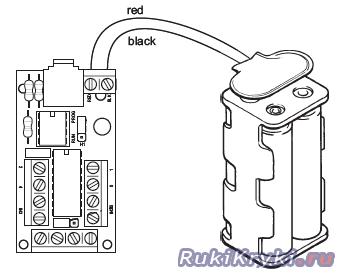 Робот на SPDT выключателях своими руками