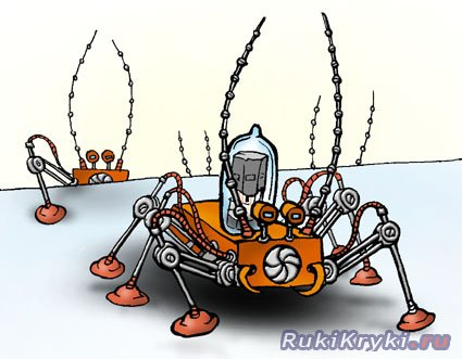 Робот таракан своими руками