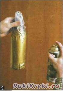 Вазочки из бутылок